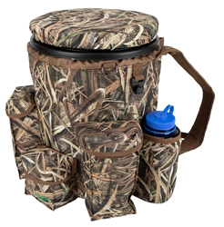 NEW Insulated Venture Bucket Pack, Shadow Grass Blades bucket carrier, bucket backpack, bucket seat, dove bucket, duck bucket, dove hunting gear, dove seat, sports bucket, sportsmens bucket, field bucket, fishing bucket seat, fishing, bucket, dove chair, dove hunting seat, dove hunting bucket, dove hunting cooler, hunting bucket, hunting bucket pack, hunting bucket backpack, hunting bucket with spin lid, hunting backpack cooler, hunting bucket cooler