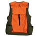 Trekker Dog Handler's Upland Hunting Vest with waist belt back view view