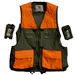 Trekker Dog Handler's Upland Hunting Vest with waist belt front view with removable pockets