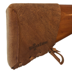 NEW -- ShockEater® Slip-On Recoil Pad Kit, Leather recoil pad, removable, slip on, limbsaver, Browning Reactar Pad