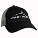 Wild Hare Shooting Hat With Mesh Back No Structure - WH-FWT-130-BK